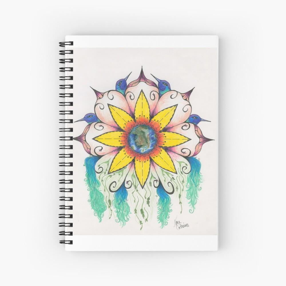 Symphony of Summer Spiral Notebook