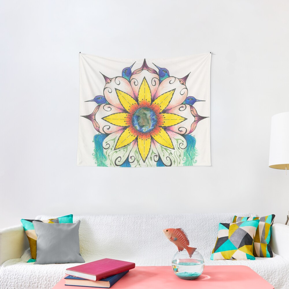 Symphony of Summer Tapestry