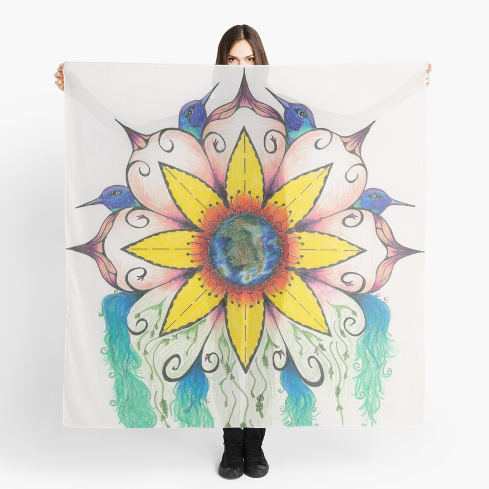 Symphony of Summer Scarf