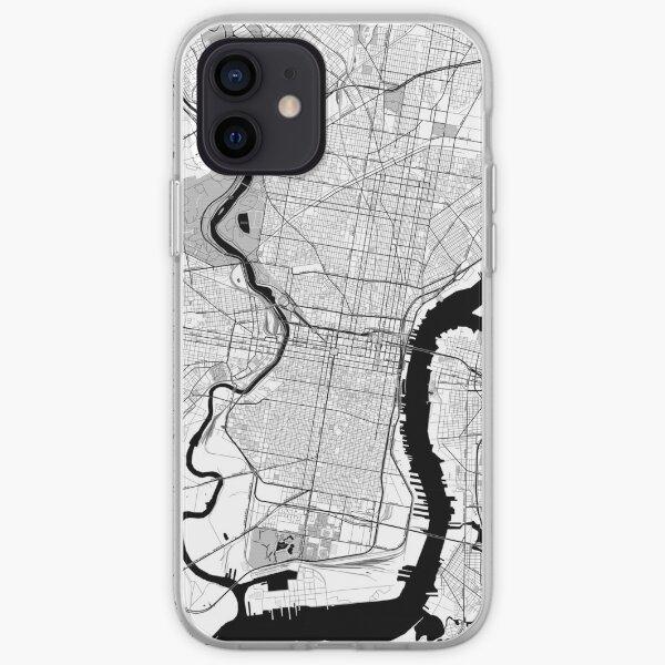 Philadelphia OpenStreetMap Poster iPhone Soft Case