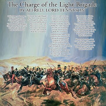 The Charge of the Light Brigade by TOMSREDBUBBLE