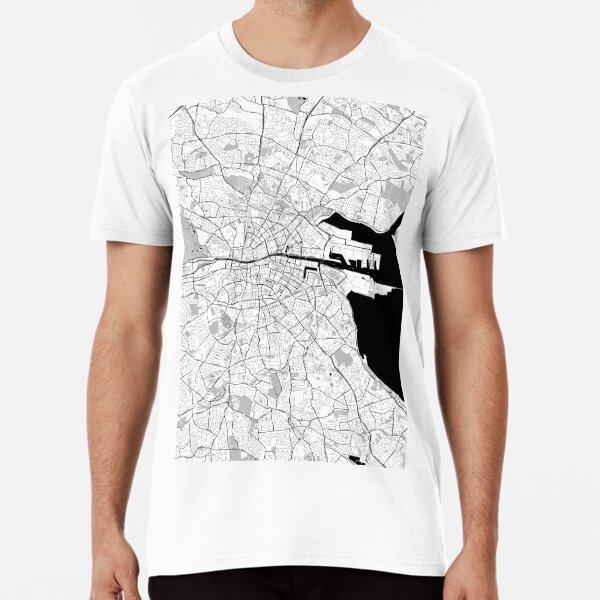 Dublin Toner Poster Premium T-Shirt