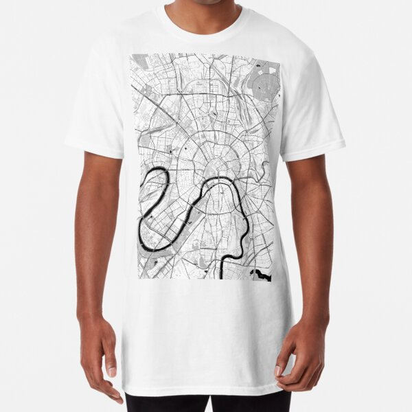 Moscow Toner Poster Long T-Shirt
