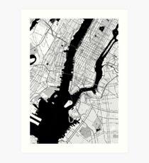 New York Toner Poster Art Print
