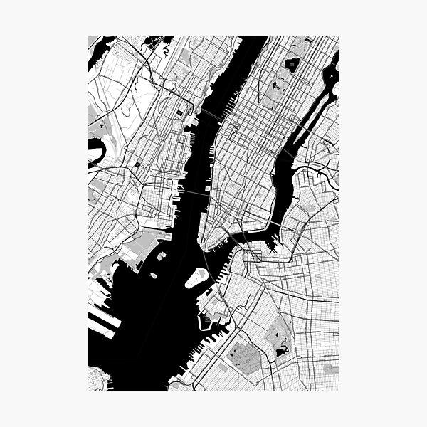 New York Toner Poster Photographic Print