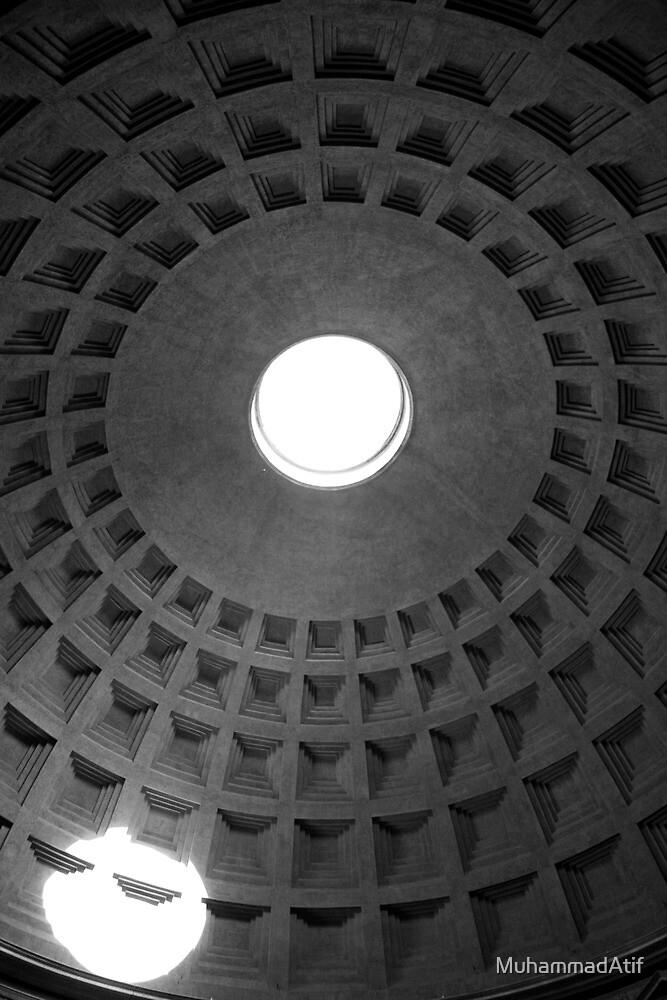Above Below - Rome by MuhammadAtif