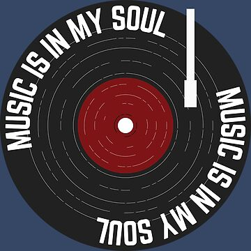 Music Is In My Soul Vinyl Record by Lightfield