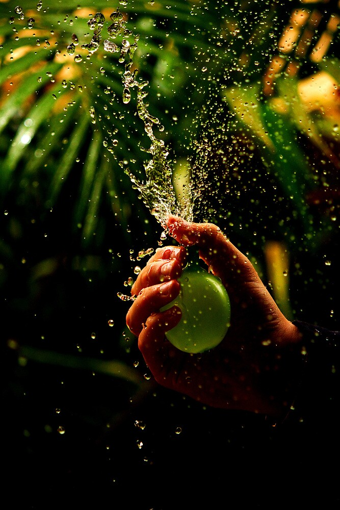 The Water Bomb by Chris Thornley