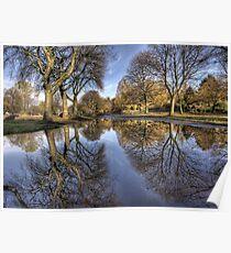 Kelvingrove Reflections Poster