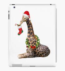 Christmas  Giraffe  iPad Case/Skin