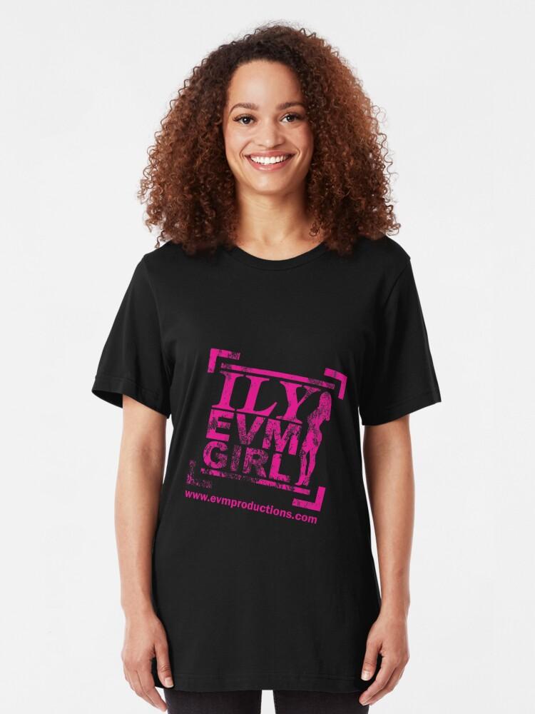 Alternate view of EVM-Girl Shirt Slim Fit T-Shirt