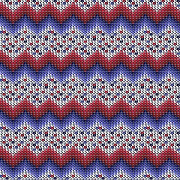 Christmas knitted pattern. 2 by marinaklykva
