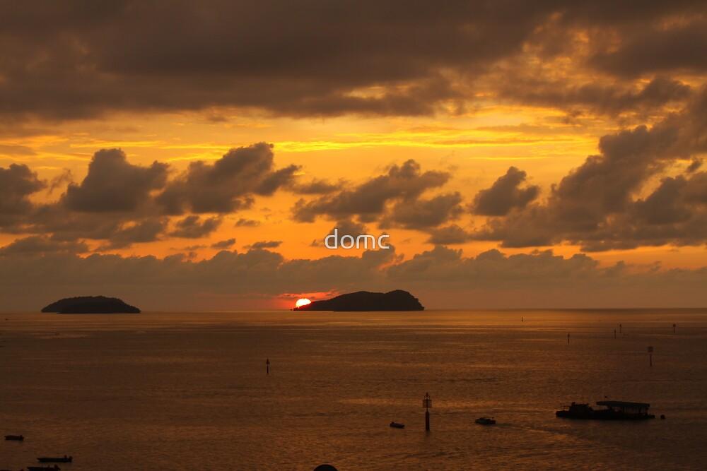 Sunset Borneo style by domc