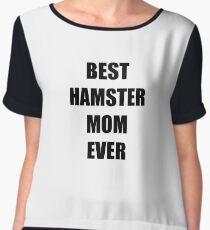 Hamster Mom Lover Funny Gift Idea Chiffon Top