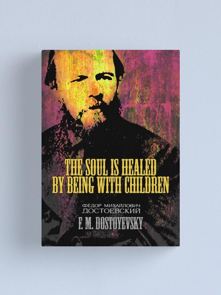 Alternate view of Dostoyevsky Inspirational Quote 1 Canvas Print