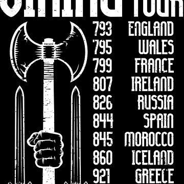 Viking World Tour | Walhalla warrior raid Odin by anziehend