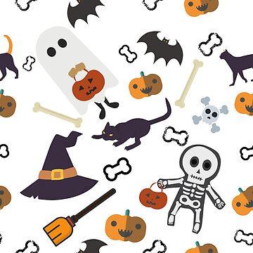 Halloween pattern by Eniac