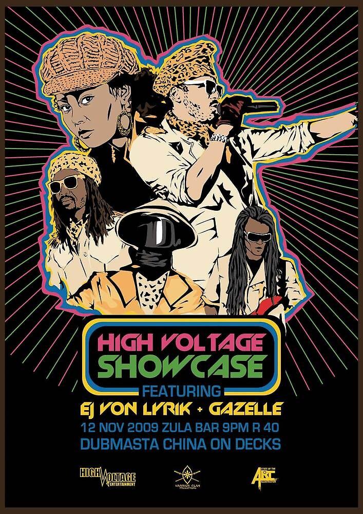 High Voltage Showcase feat. Gazelle and Ej Von Lyrik by RogerAdrian