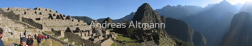 Machu Picchu by Andreas Altmann