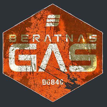 BERATNAS GAS BG-840  by karmadesigner