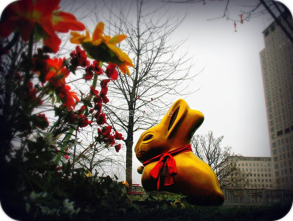easter bunny by estherase