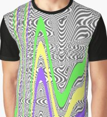 80s Trippy Graphic T-Shirt