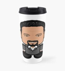 Mr. Organizer POLITICO'BOT Toy Robot Travel Mug