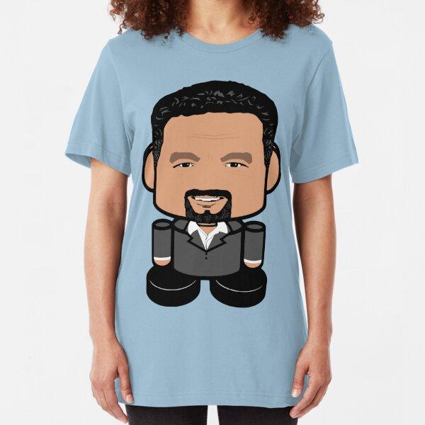 Mr. Organizer POLITICO'BOT Toy Robot Slim Fit T-Shirt