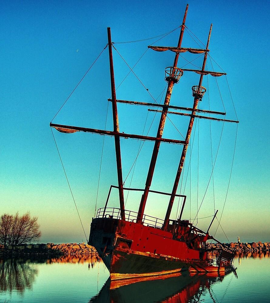 Pirate ship 2 by Rex  Montalban