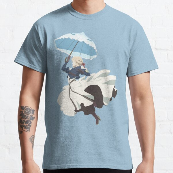 Violet Evergarden - Parasol - Minimalist Art Classic T-Shirt
