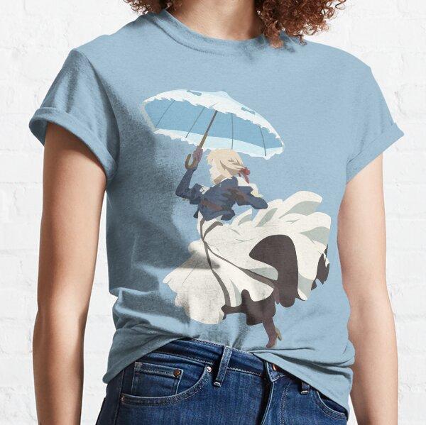 Violet Evergarden - Parasol - Arte minimalista Camiseta clásica
