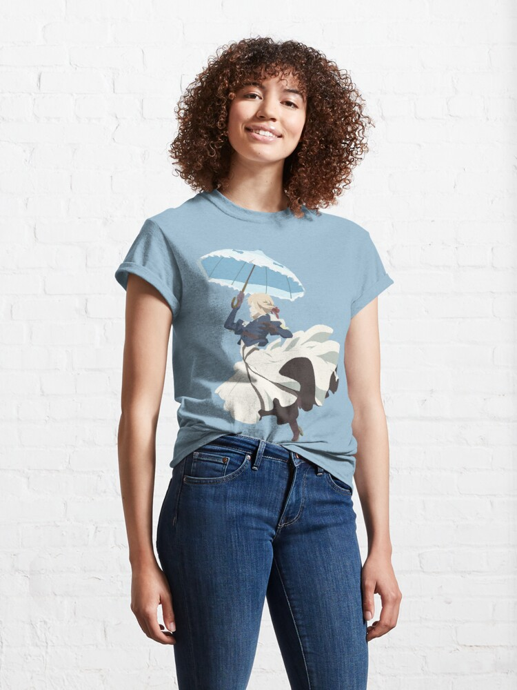 Alternate view of Violet Evergarden - Parasol - Minimalist Art Classic T-Shirt