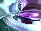 Grapes and Cream Abstract by Alexander Butler