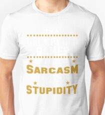 I Am A Grumpy Old GAMER My Level of Sarcasm Unisex T-Shirt
