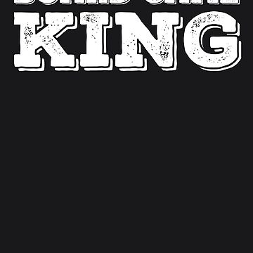 BOARD GAME KING Art Funny Chess Player Geek Nerd Gift Idea by NBRetail