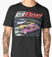 Initial D'oh  Men's Premium T-Shirt