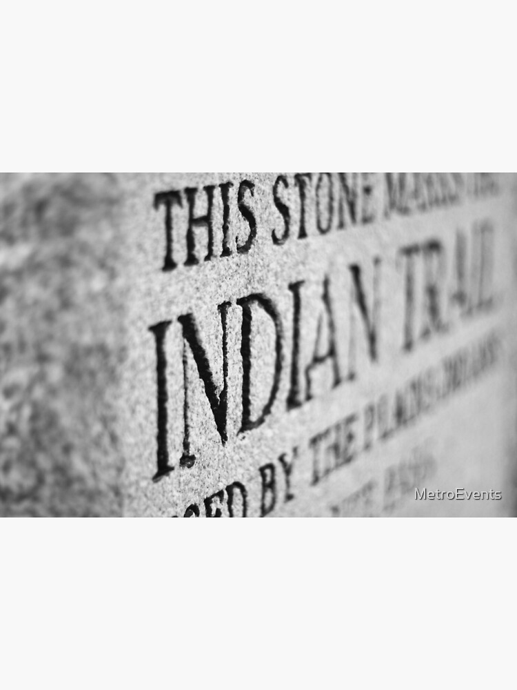 Stone, Indian Trail Photograph by MetroEvents