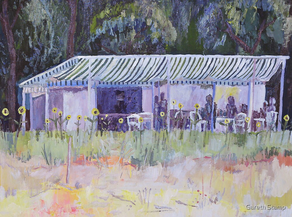 My favourite beachside cafe - Corsica by Gareth Stamp
