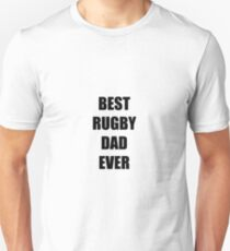 Rugby Dad Funny Gift Idea Unisex T-Shirt