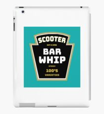 Scooter Bar Whip Shirt - Trick Scooter Shirt - Scooter tshirt - Trick Scooter tee - Trick Scooter t-shirt iPad Case/Skin