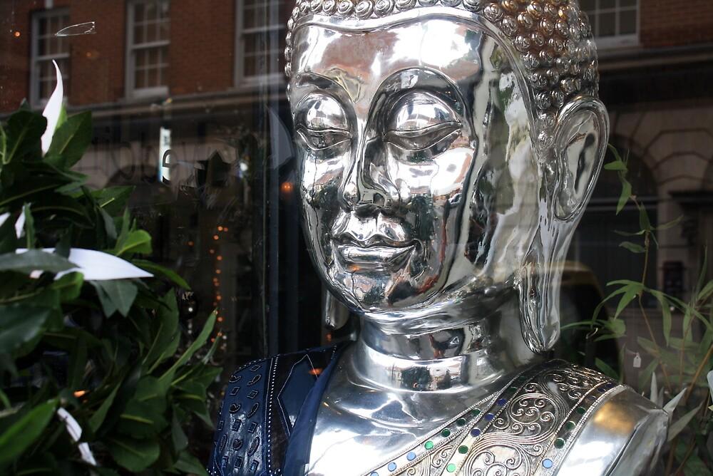 Silver Buddah by Scott Irvine