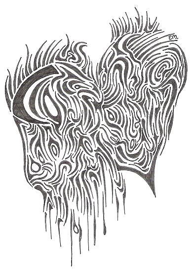 Bleeding Heart by violentcat345