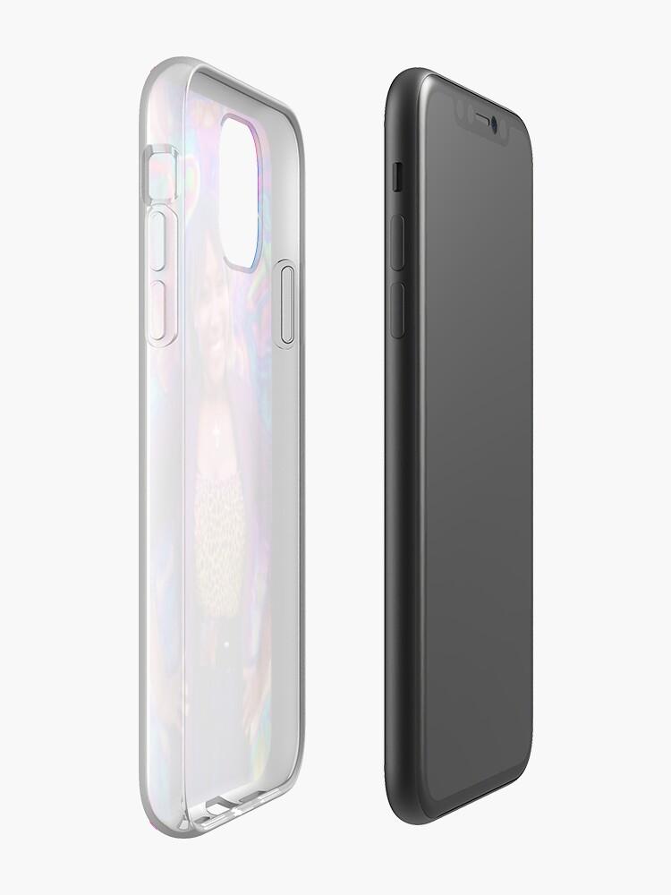 Coque iPhone «Fier et charmant», par JLHDesign