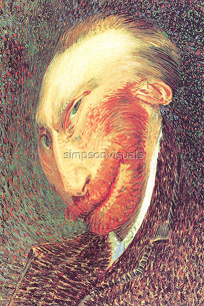 Twisted Vincent - A View of Vincent van Gogh by simpsonvisuals