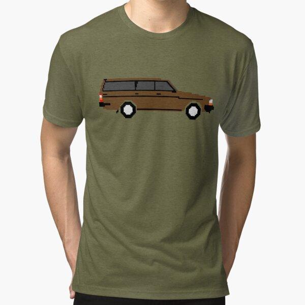 8bit Brick Tri-blend T-Shirt