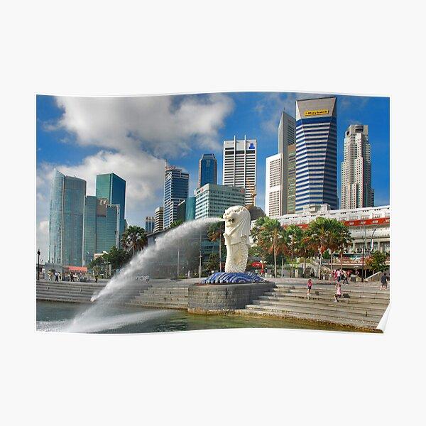 Singapore, Merlion Poster