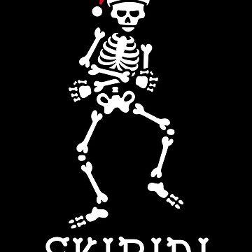 #SkibidiChallenge meme skeleton Christmas Skibidi challenge by LaundryFactory