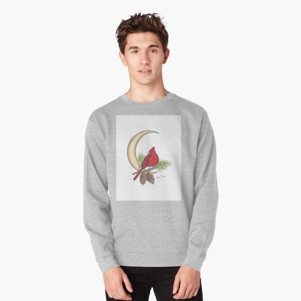 Cardinal - watching over me Pullover Sweatshirt