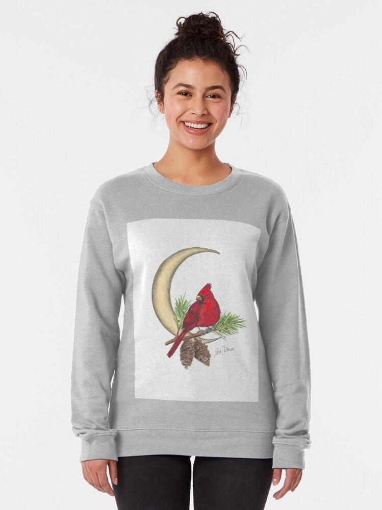 Alternate view of Cardinal - watching over me Pullover Sweatshirt