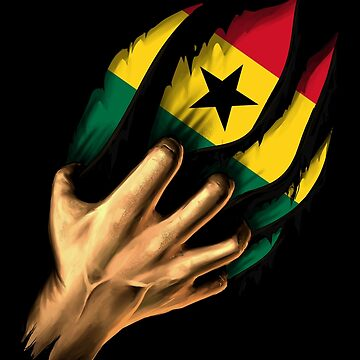 Ghanaian in Me Ghana Flag DNA Heritage Roots Gift  by nikolayjs